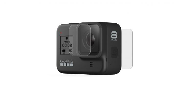 GoPro Tempered Glass Lens & Screen Protectors (Suits HERO8 Black)