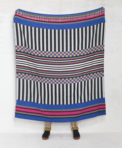 Check Deck Woven Blanket