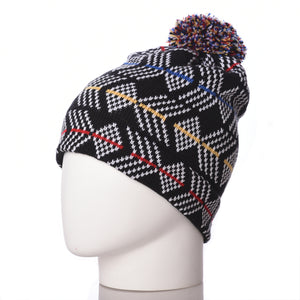Chevvy Merino Wool Bobble Beanie
