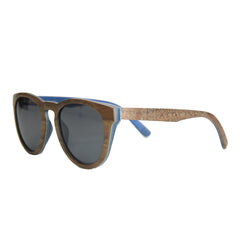 Enjees Handcrafted Wooden Sunglasses - Walnut - K-nit