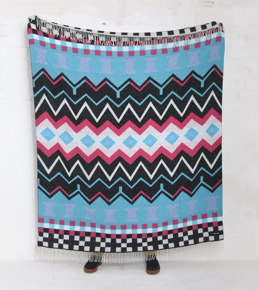 Electric Wool Woven Blanket