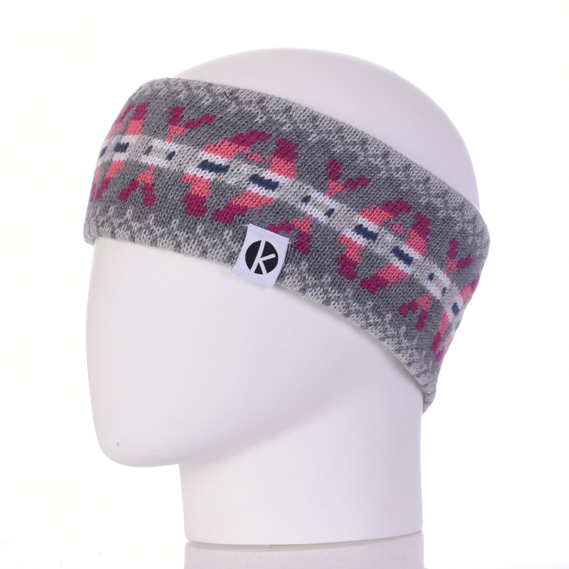 Burster Merino Wool Headband - Grey