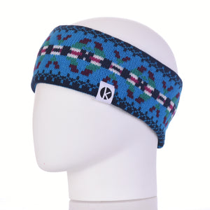 Burster Merino Wool Headband - Blue