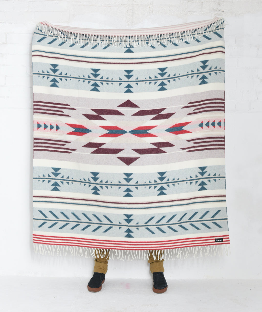 Nava Say Nava Woven Blanket - Cream
