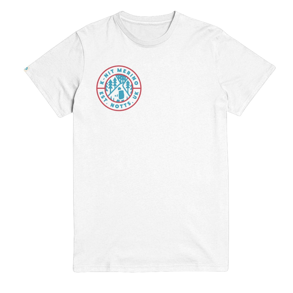 Hike The Pines White Unisex T-Shirt