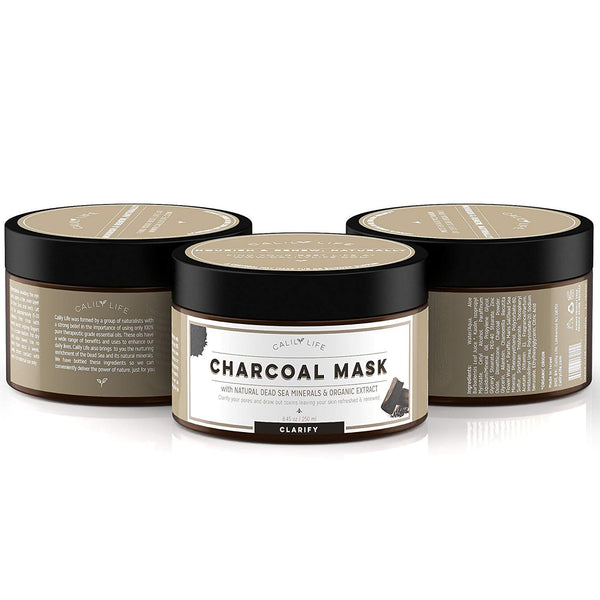 Charcoal Mask w/ Dead Sea Minerals