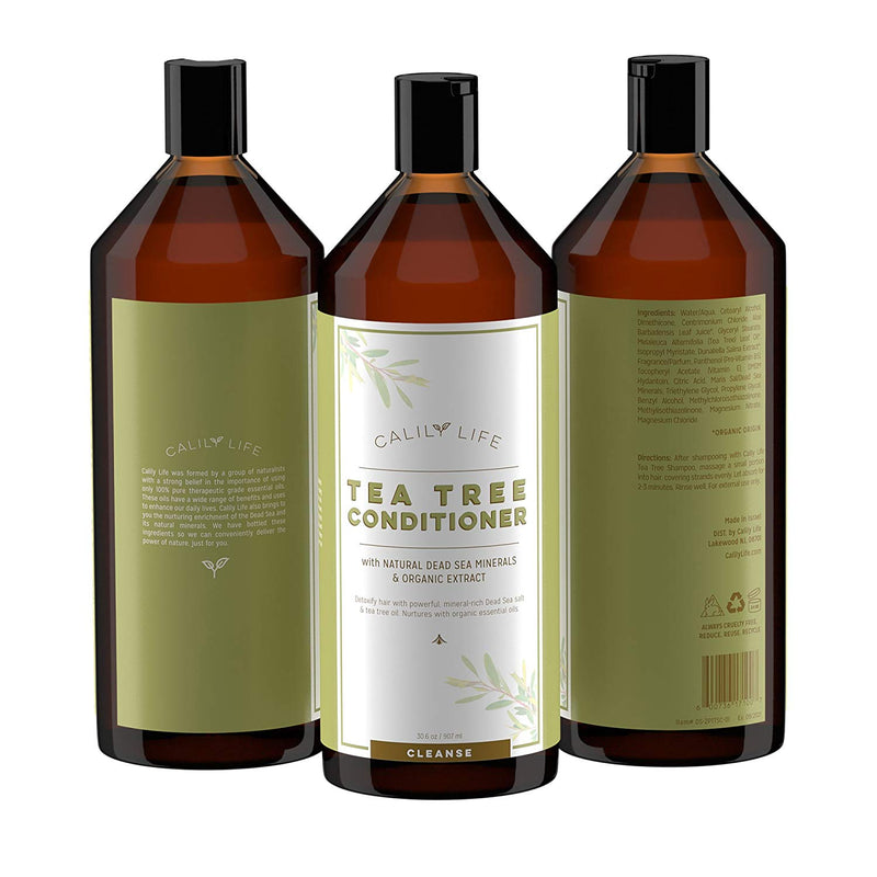 Tea Tree Shampoo + Conditioner