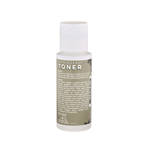 Phyto-Nutrient Toner with CoQ10, Hyaluronic Acid, and Papaya Extract. Anti-Aging and Hydrating !