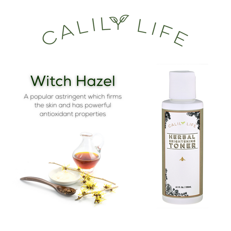 Herbal Brightening Toner w/ Witch Hazel