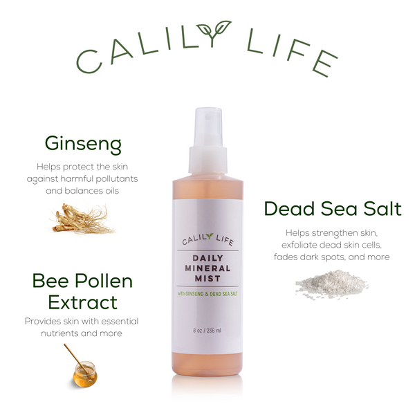 Daily Mineral Mist w/Ginseng and Dead Sea Salt