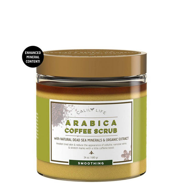 Arabica Coffee Scrub w/ Dead Sea Minerals