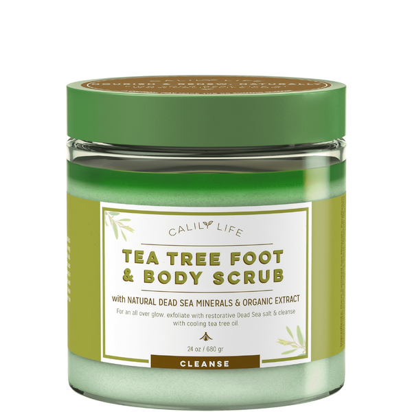 Tea Tree Foot & Body Scrub
