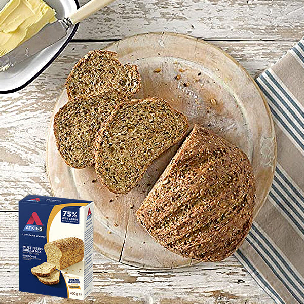 Atkins Low Carb Breadmix | Multi Seed | 400g