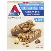 Atkins Day Break Bar 5 Pack | Hazelnut Crisp | 5x37g