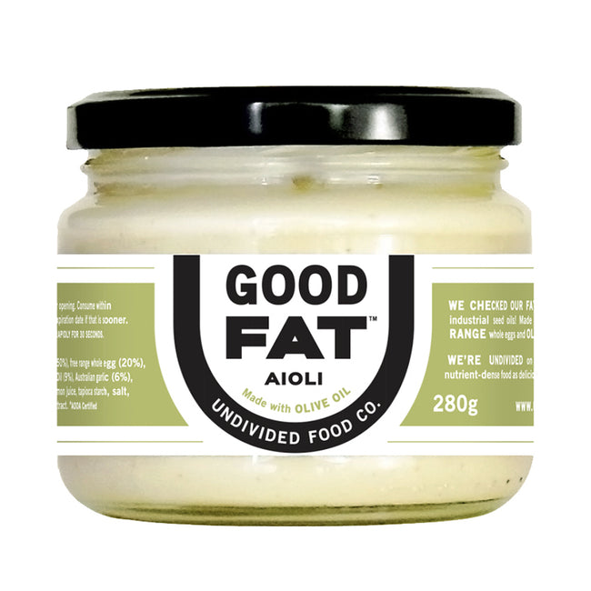 Undivided Food Co | Good Fats | Aioli | 280g