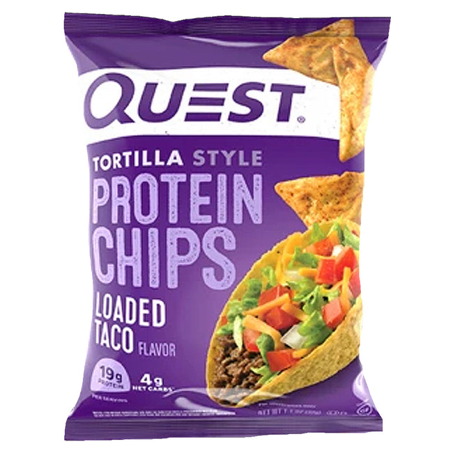 Quest Tortilla Protein Chips | Loaded Taco | 32g