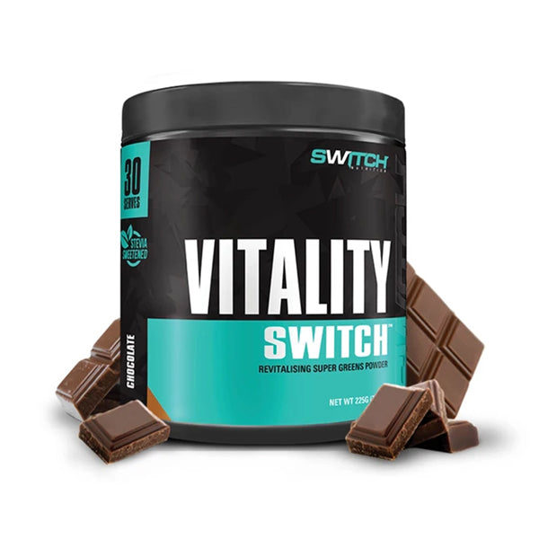 Switch Nutrition Vitality | Chocolate | 225g (30 Serves)