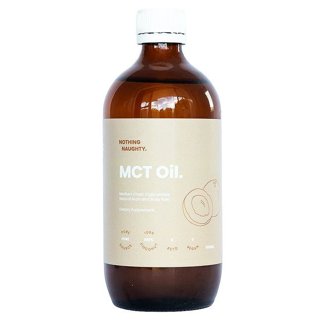 Nothing Naughty | MCT Oil Pure Coconut | 500ml