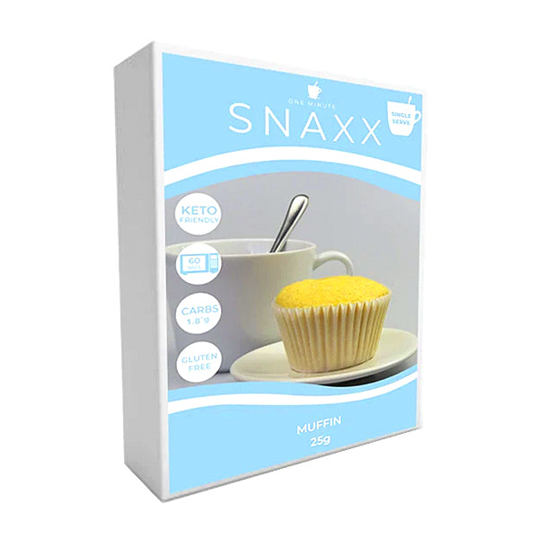 Snaxx One Minute Muffin 2 Pack | Banana | 25g x2