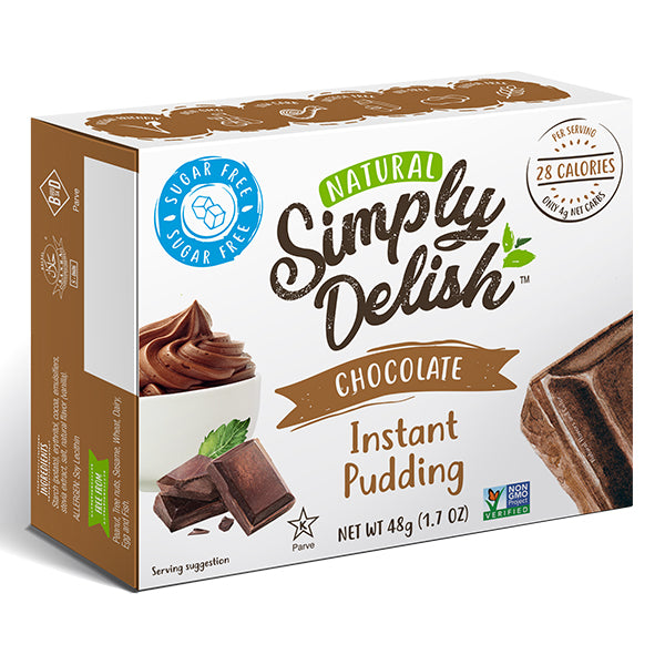 Simply Delish Instant Pudding | Chocolate | 48g