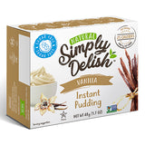 Simply Delish Instant Pudding | Vanilla | 48g