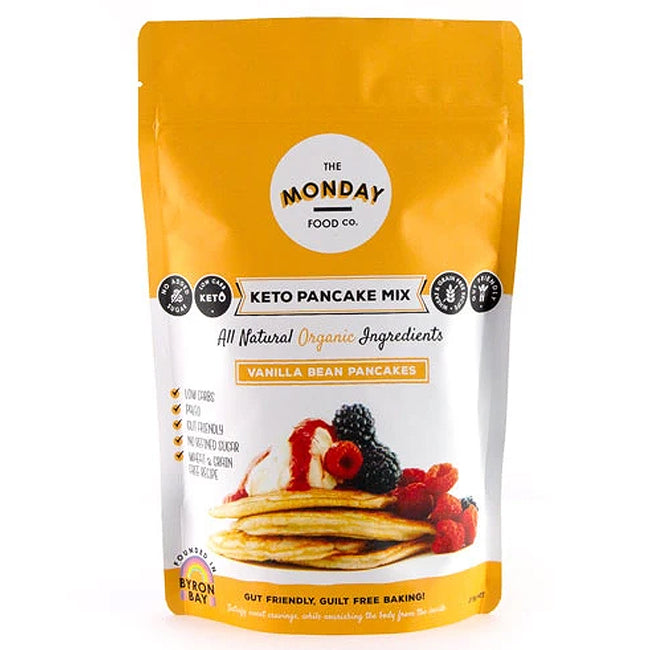 Monday Food Co | Pancake Mix | Vanilla Bean | 215g
