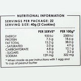 Monday Food Co | Peanut Butter Keto Cookie Mix | 250g