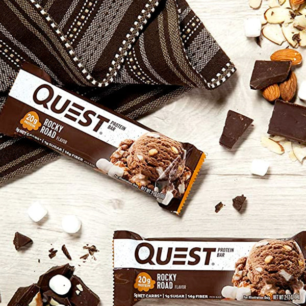 Quest Protein Bar | Rocky Road | 60g