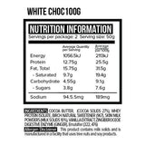 Vitawerx Protein Chocolate Bar | White Chocolate | 100g