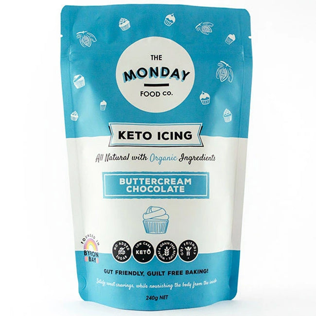 Monday Food Co | Chocolate Buttercream | 240g