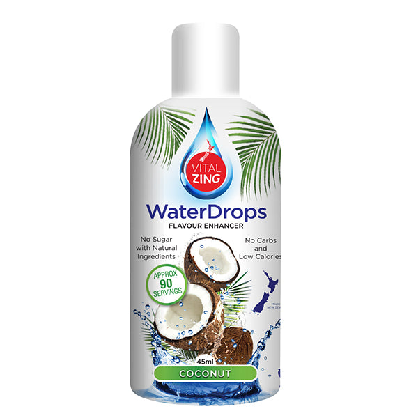 Vitalzing Waterdrops | Coconut | 45ml