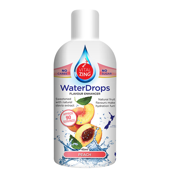Vitalzing Waterdrops | Peach | 45ml