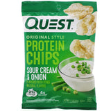 Quest Original Protein Chips | Sour Cream & Onion | 32g