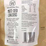 Wholesome You | Multi-Seed Crackers | 180g