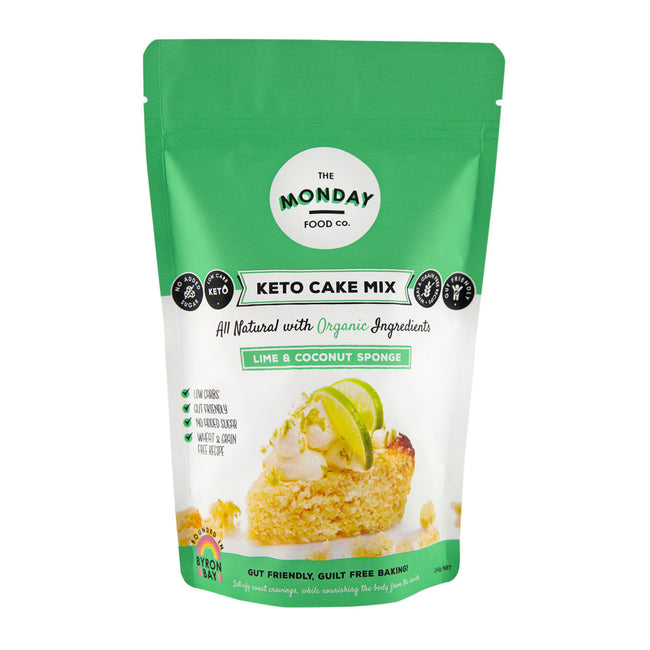 Monday Food Co | Lime and Coconut Cake | 250g