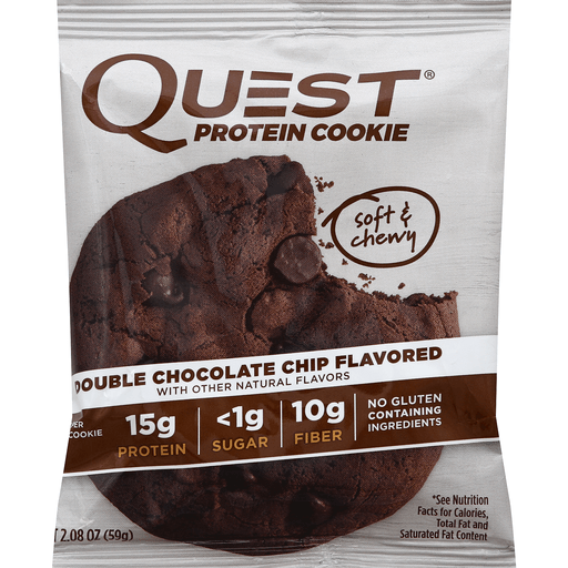 Quest Protein Cookie | Double Chocolate Chip | 59g