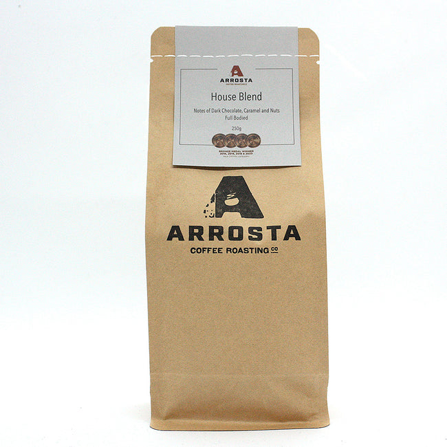 Arrosta Coffee | House Blend | Beans | 250g | Ships Every Wednesday