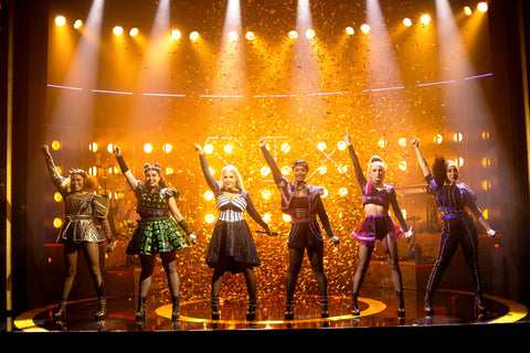 Six: The Musical on stage
