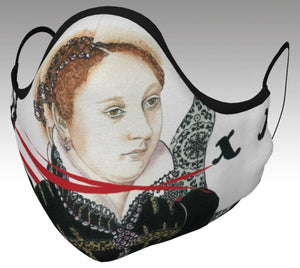 Mary Queen of Scots Face Mask