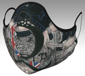Queen Victoria Q Safe Style Face Mask