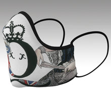 Load image into Gallery viewer, Queen Victoria Tea Cup Safe Style Face Mask