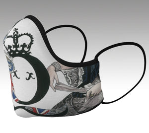 Queen Victoria Tea Cup Safe Style Face Mask