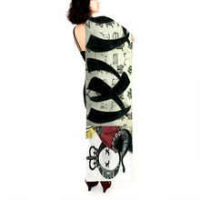 Load image into Gallery viewer, Empress Wu Long Linen Scarf