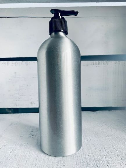 16 fl oz Aluminum Bottle with pump top