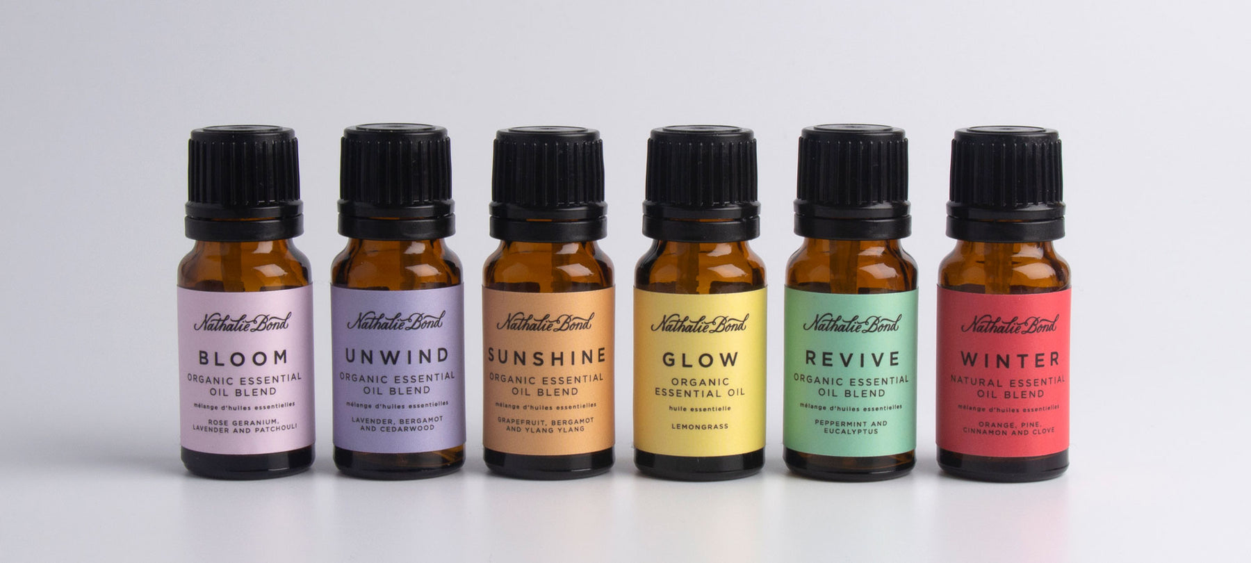 organic essential oil blends