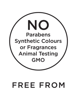 free from parabens and sls