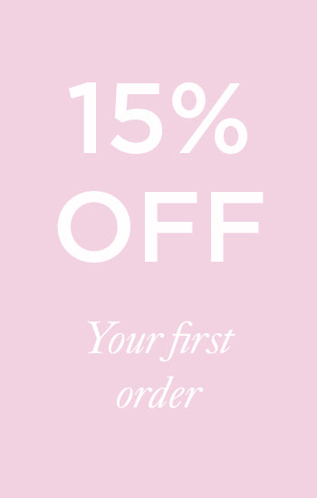 15% discount on your first order
