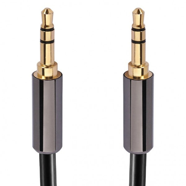 Calrad 55-897HG-6 6' 3.5mm Stereo Male to 3.5mm Stereo Male (FINAL SALE)