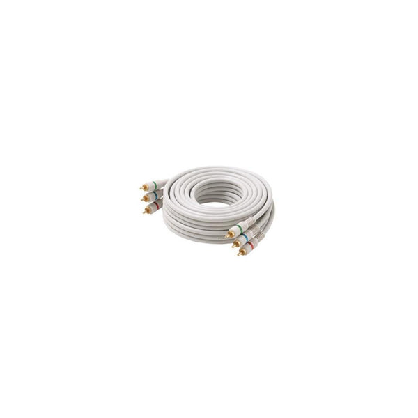 Steren Electronics 254-512IV3' RCA CoMPonent Video  Cable- Ivory (FINAL SALE)