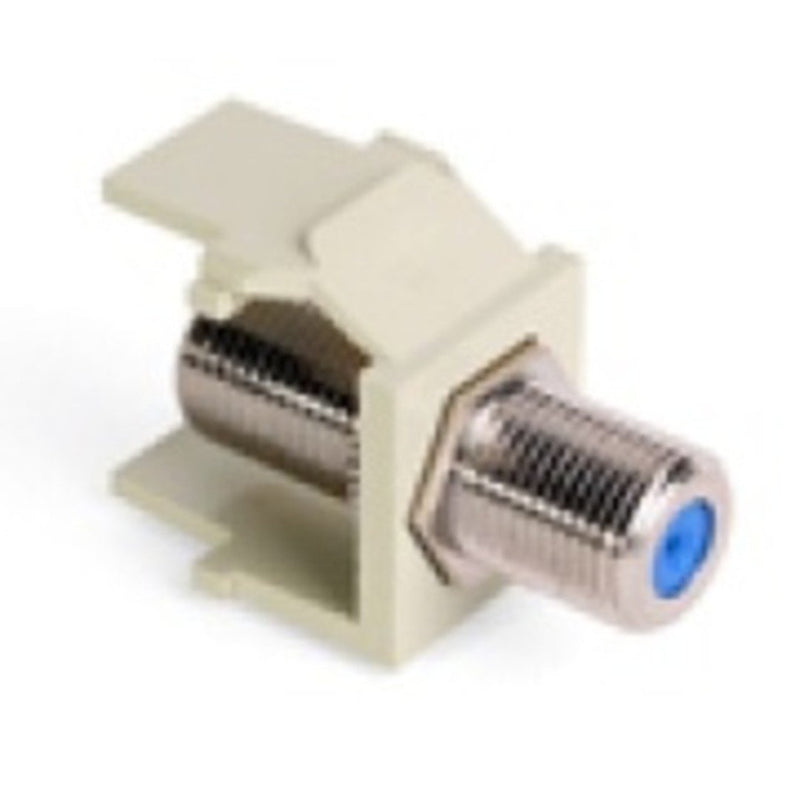 Leviton 40731-BI Quickport F-Connector Ivory (FINAL SALE)